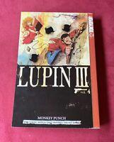 Lupin III 3, Vol. 4, Monkey Punch, English Manga LIKE NEW (2003, Paperback)