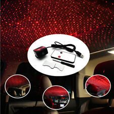 5V Car Rotate Red LED Night Roof Light Rotating Star Projector Atmosphere lamp
