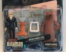 Palisades Adult Swim Action Figure HARVEY BIRDMAN Lawyer Phil Ken Sebben & BEAR