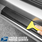 For Auto Parts Accessories Carbon Fiber Vinyl Car Stickers Door Sill Protector