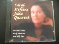 CAROL  STEFFENS  JAZZ  QUARTET  Who Dat ?  ,  CD  2000 ,  PHIL TERRY , WILLY RAY
