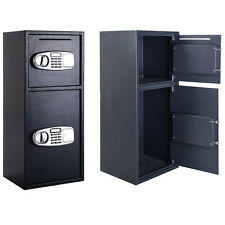 New Double Door Combination Lock Safe Box Security Digital Steel Home Office