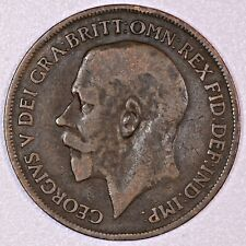 Great Britain Penny 1916 King George V  Inv.# D3-4