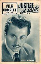 FILM COMPLET 243 JUSTICE EST FAITE MICHEL AUCLAIR PHOTO VIVIEN LEIGH 1951