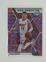 2019-20 Mosaic #280 Tyler Herro NBA Debut Blue Reactive Prizm Rookie RC Heat 📈