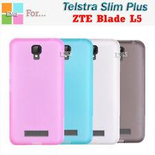 Soft TPU Gel Clear TPU Case Cover For Telstra Slim Plus / ZTE Blade L5