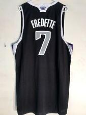 Adidas Swingman Jersey Sacramento Kings Jimmer Fredette Black Alternate sz XL