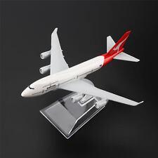 16cm B747 Australia Qantas Airline Aircraft Aeroplane Plane 1:400 Diecast Models