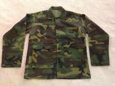 Liberty Woodland Camouflage Long Sleeve Button Front Shirt (S/M) J3