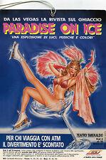 locandina CIRCO PARADISE ON ICE SUL GHIACCIO DA LAS VEGAS MILANO TEATRO SMERALDO