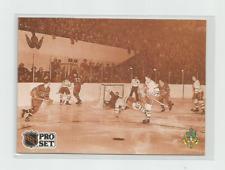 "BILL BARILKO 1991-92 PRO SET ""END OF INNOCENCE"" ROOKIE FRENCH HOCKEY CARD #340"