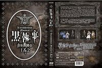 Black Butler (Kuroshitsuji Musical Live 1 & 2) ~ All Region ~ Brand New & Seal ~