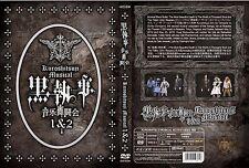 Black Butler (Kuroshitsuji Musical Live 1 & 2) ~ 2-DVD SET ~ English Subtitle ~