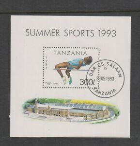 Tanzanie - 1993, SPORTS, Haute Jump, Athlétisme Feuille - F/U - Sg MS1513