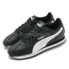 Puma Турин черные белые мужские кроссовки кеды кроссовки Runner 360116-01