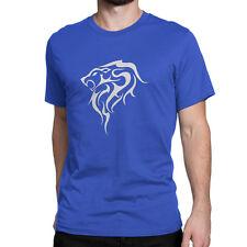 Western Zodiac Leo Custom Design Cotton Men's T-Shirt