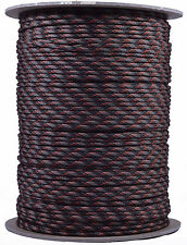 Fall Camo - 550 Paracord Rope 7 strand Parachute Cord - 1000 Foot Spool