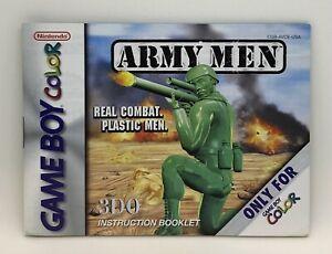 Army Men (Instruction Booklet/Manual Only) Game Boy Color Nintendo Original Game