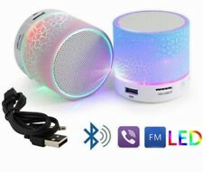 Mini Bluetooth Light-up Speaker. Blue, Pink, White, Yellow, Green, or Black!