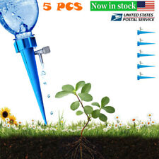 5 Pcs Automatic Sprayer Watering Device Adjustable Water Flow Dripper System Us