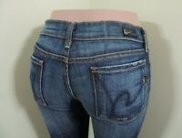 COH Citizens Of Humanity Kelly Low Waist Bootcut Stretch Jeans Size 28 X 34""
