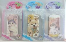 3Pcs Dog and Cat IPHONE 4/4S Front and Back Leather Like Cover Skin Case