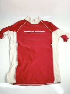 Pro Red Small Training Fitness T-Shirt Top Jumper Running Gym Cycling (1317 D1)