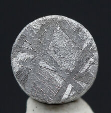 Gibeon Iron Meteorite Cabochon Jewelry Specimen Authentic PROFESSIONALLY Etched