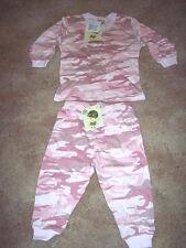 2 Piece Pajamas Pink Camo Pajamas Camo PJs 2T Camo Set Camo Shirt Camo Pants Set