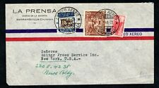 Colombia - 1940 Airmail Cover to New York