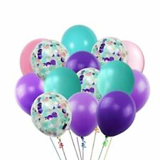 Beautiful Mermaid Confetti Balloon Bouquet-Party Decorations-Party Supplies