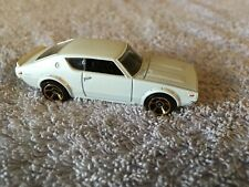 Hotwheels  Nissan Skyline 2000 GT-R Car  - Possible Scale 1:64 - White