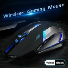 CA LED LASER USB WIRELESS OPTICAL GAME GAMING MOUSE RECHARGABLE X7 MOUSE