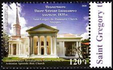ARMENIA 2020-10 Religion Architecture: Armenian Church in Singapore, MNH