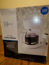 Mainstays 12 Cup Coffee Maker - Black