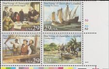 1 #2620-23 .29 VOYAGES OF COLUMBUS PB OF 4. BIN $2.25.