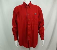 Original Houndstooth Shirt Long Sleeve Alabama Crimson Tide Men's L