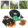 15~25m DIY/Auto Micro Drip Irrigation kit Garden Greenhouse Self Watering Hose