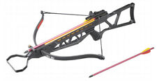 120LBS Recurve Crossbow Black 185+FPS Hunting Youth Bow + 2 Arrows New