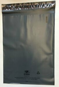 """1000 Recyclable Poly Bag Mailers  9"""" x 12"""" Grey Gray Unlined Self Seal Envelope"""