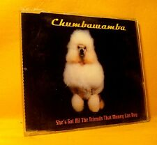 MAXI Single CD CHUMBAWAMBA She's Got All The Friends That Money Can Buy 4TR 2000