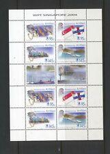 Netherlands Antilles 2004 SG 1619-22 Singapore sheet Ships MNH