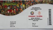 TICKET LS 16.10.2012 Rumänien - Holland