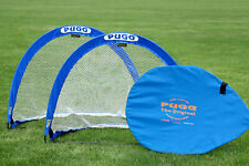 PUGG ORIGINAL 4-FOOTER POP-UP GOALS (PAIR of 2 in various colors)
