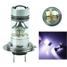 H7 6000K 100W LED Fog DRL Driving Car Head Light Lamp Bulbs White Super Bright