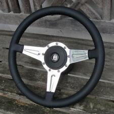 Volant Cuir Moto-Lita Lecarra 3Br Complet VW Cox Beetle KGhia Porsche ou Autres