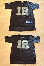 Youth Oakland Raiders Randy Moss L (14/16) Jersey (Black) Reebok Jersey