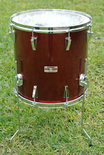 """1986 YAMAHA 16"""" GARNET RED POWER STAGE 2 SERIES FLOOR TOM for YOUR DRUM SET D899"""