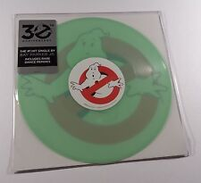 GHOSTBUSTERS 10 Inch Single Soundtrack EP GLOW IN THE DARK VINYL ray parker jr
