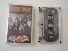 SLEEZE BEEZ SCREWED BLUED AND TATTOOED CASSETTE TAPE SLEAZE & ATLANTIC USA 1990